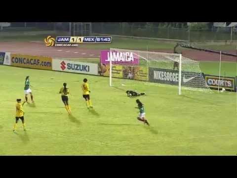 México vs Jamaica Premundial Femenil Sub-17 2013