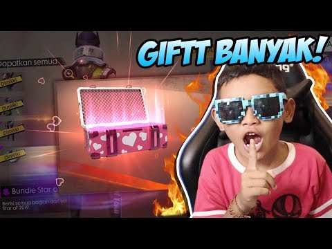 KAMPRET! BOCIL GIFT SKIN BUNDLE STAR OF 2019 PAKE ID FROST DIAMOND! - FREE FIRE