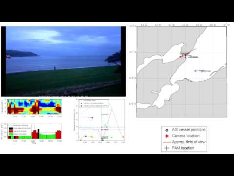 Ship noise monitoring in the Moray Firth - The Sutors