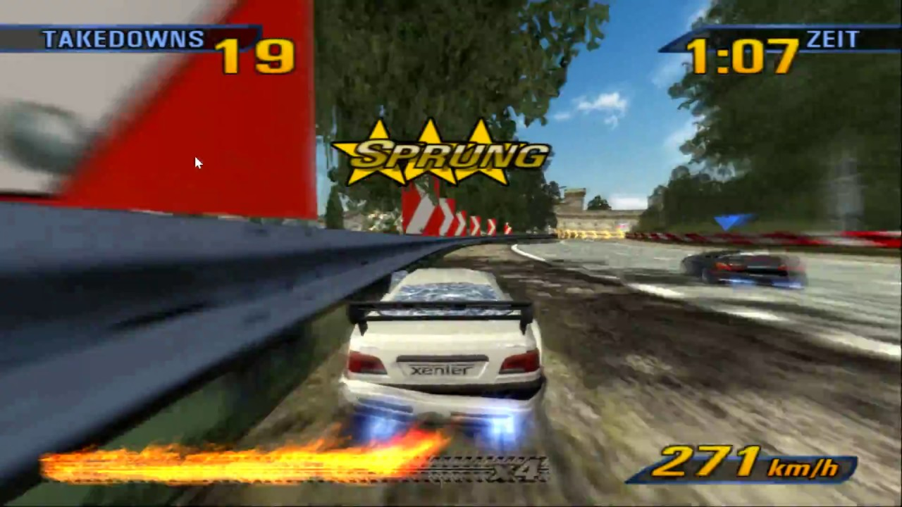 Burnout 3 - Takedown - Road Rage - PCSX2 Emulator latest Version