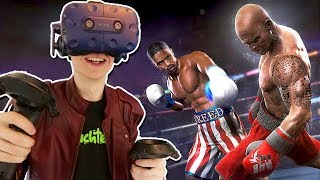 VIRTUAL REALITY BOXING SIMULATOR! | Creed: Rise to Glory VR (HTC Vive Pro + Haptic Suit Gameplay)