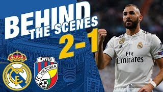 Real Madrid 2 - 1 Viktoria Plzen | BEHIND THE SCENES