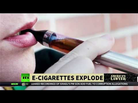 Lawsuits: E-cigarettes Explode