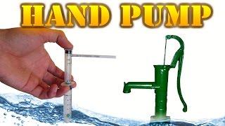 How to Make a Mini Hand Pump (Running a Hand Pump)