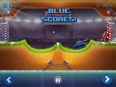 Drive Ahead Replay: Tank vs Tank - Tank Soccer!