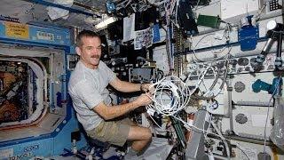 Uluslararası uzay istasyonunda günlük yaşam