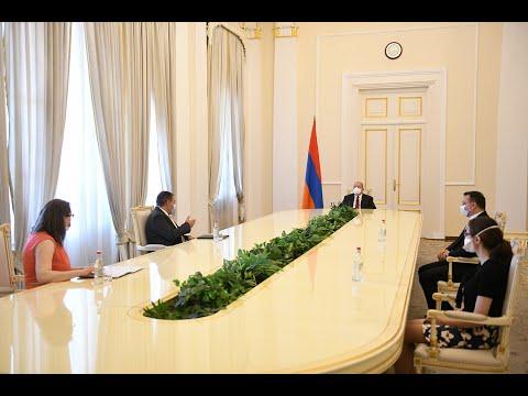 Նախագահ Արմեն Սարգսյանի նստավայրում տեղի է ունեցել նորանշանակ դատավորների երդման արարողությունը