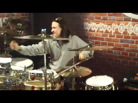 RotodruM musikmesse 2012 video 07 un grande amico Grazie Damien