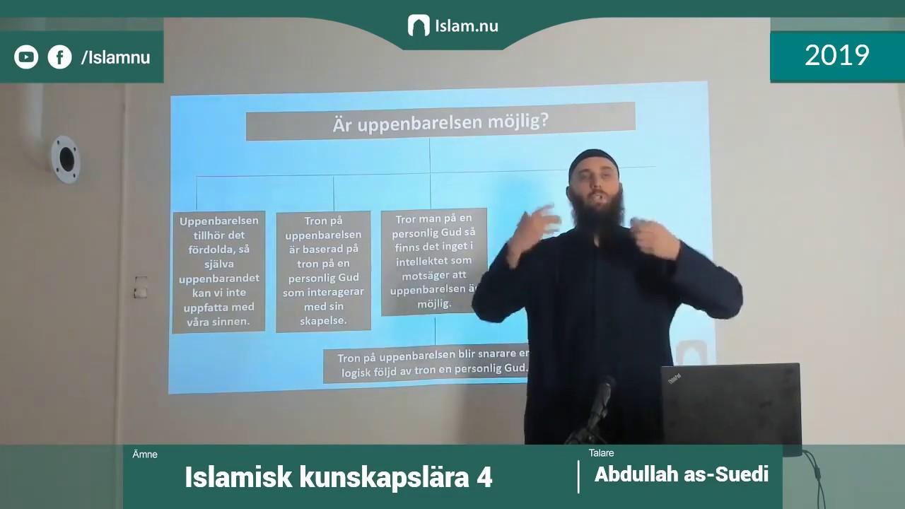 Islamisk kunskapslära | del 4 av 4 | Shaykh Abdullah as-Sueidi
