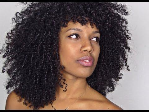 Dying Natural Hair Purple Simplybiancaalexa Youtube