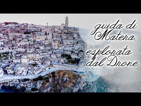 Guida dal Drone: sorvolando i Sassi di Matera, scopriamo...