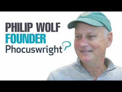 Philip Wolf, Founder Phocuswright Inc, speaking about The Young Leaders Summit - Phocuswright 2017
