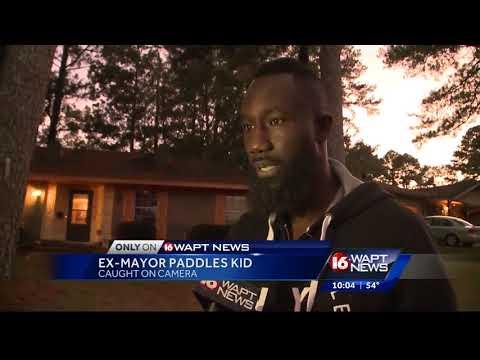 Ex Mayor Paddles Kid