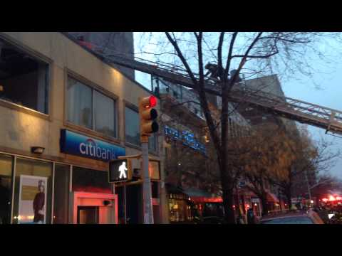 Fire at Citibank on Broadway and 111th in Upper Manhattan