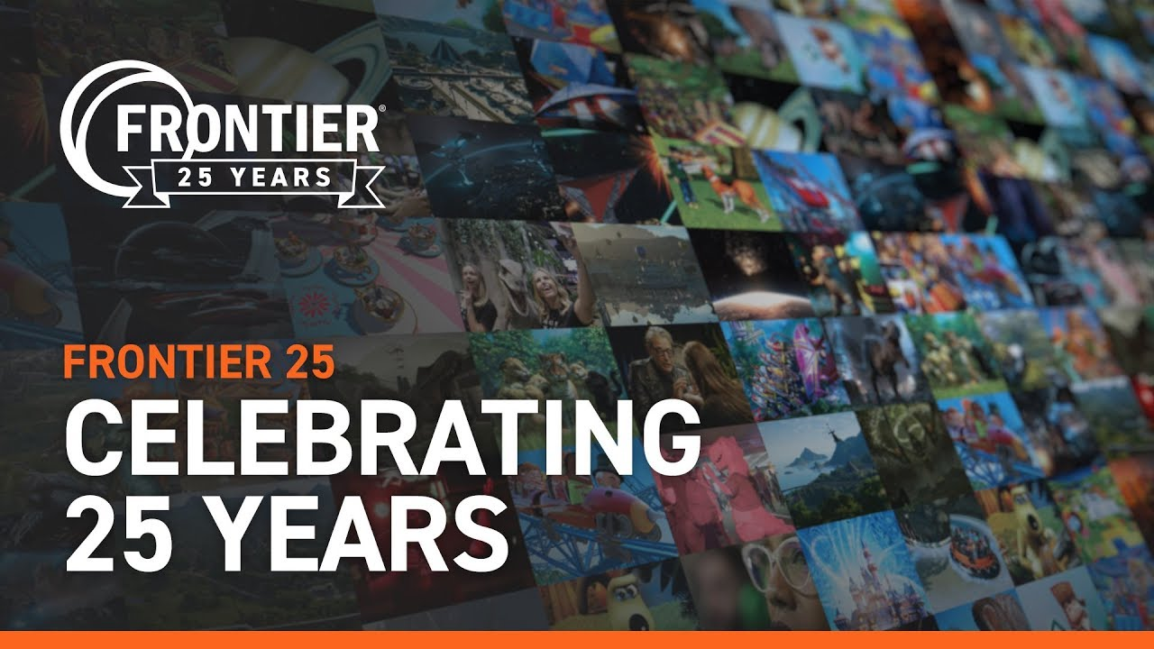 Celebrating Frontier's 25th Anniversary.