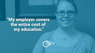 My employer covers the entire cost of my education