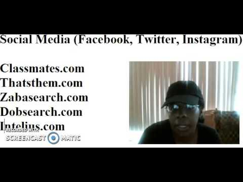 How To Search For Someone Online | People Search | Theresa Johnson