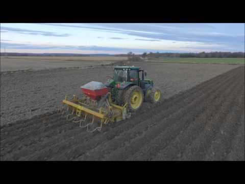 Clay All Over Farms Inc  Fall Ridging 2015