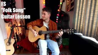 FS (Folk Song) - Guitar Riff Lesson!