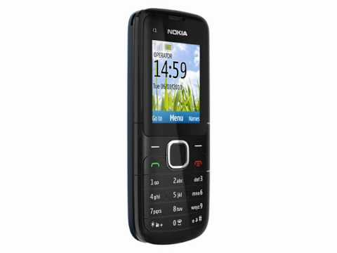 Nokia C1-01 American version Video clips