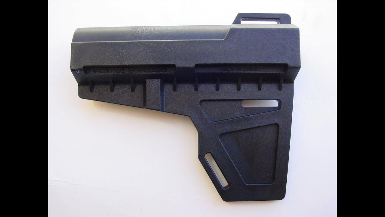 Shockwave Technologies Blade Pistol Stabilizer for AR15 Pistols