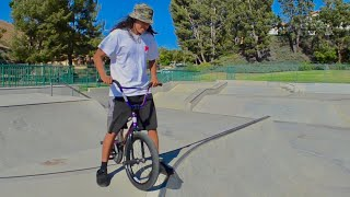 Johnny Conquers His Fear Of Spines! BMX Vlog