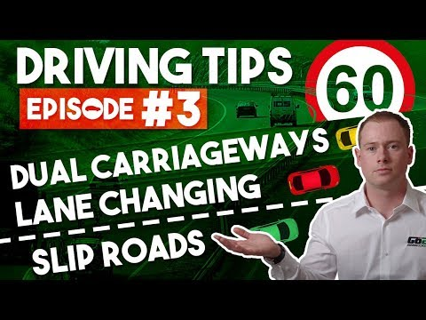 8 Tips for Driving on Faster Roads, Dual Carriageways & Slip Roads