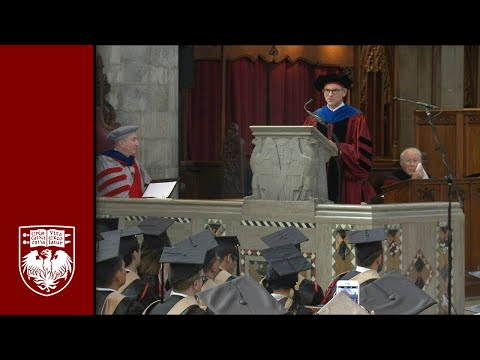 The 526th Convocation, University Ceremony - The University of Chicago