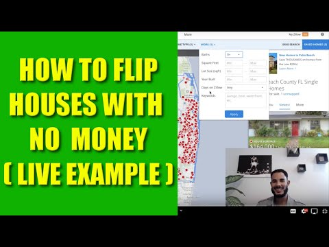How to Flip Houses with No Money - Live Example