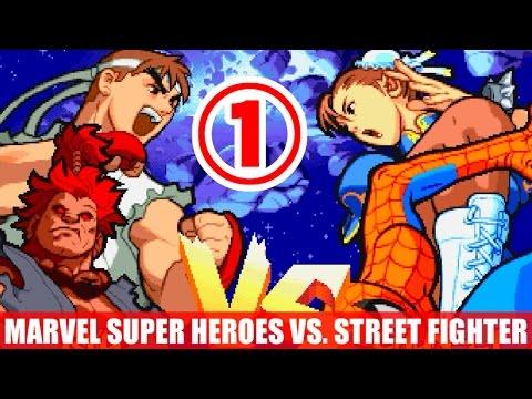 [1/4] 豪鬼(Akuma) and リュウ(Ryu) - マーヴル・スーパーヒーローズ VS. ストリートファイター