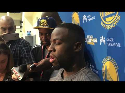 Draymond Green on Cursing Out Steve Kerr During Halftime on Thunder Game