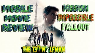Mobile Movie Review Mission Impossible Fallout