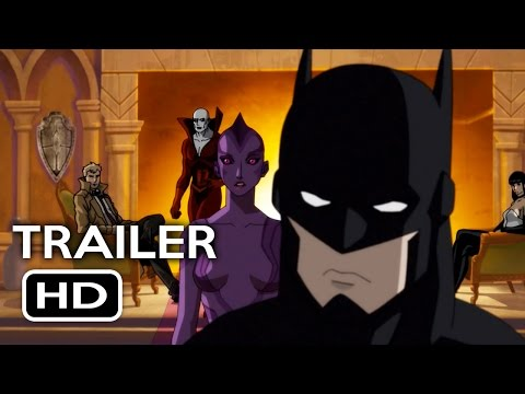 Justice League Dark Official Trailer #1 (2017) Animated DC Superhero Movie HD