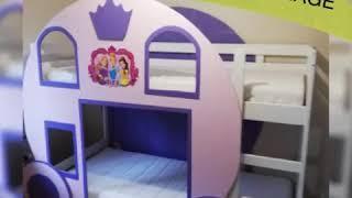 DIY DOUBLE BED PRINCESS CARRIAGE/transform your old double bed to a magical princess carriage bed