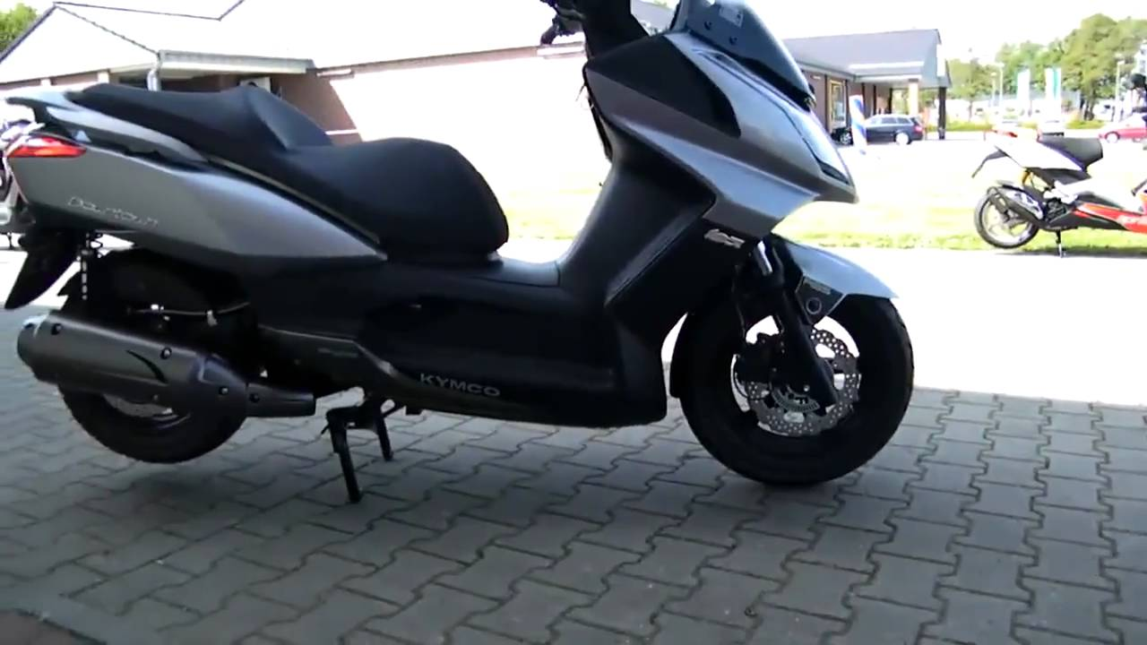 kymco downtown 125i abs roller scooter 2011 youtube. Black Bedroom Furniture Sets. Home Design Ideas