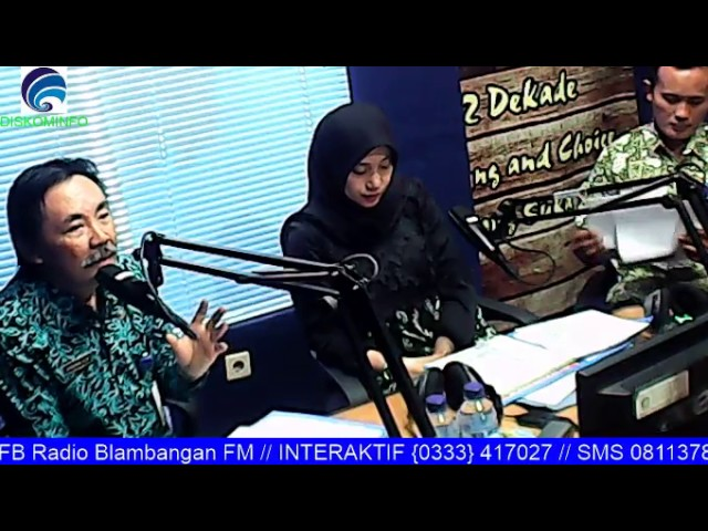 Blambanganfm - Talkshow Bersama Ibu Dani Azwar Anas & Dinas Kesehatan Banyuwangi//