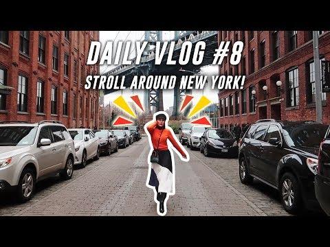 STROLLING AROUND NEW YORK CITY    DAILY VLOG #8