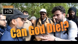 **Must Watch** Can God Die!? Hashim Vs Christian | Old is Gold | Speakers Corner | Hyde Park