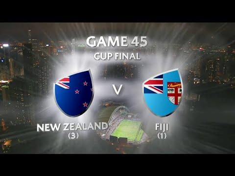 Fiji Vs New Zealand Cup Final Hong Kong 7s 2016 HD