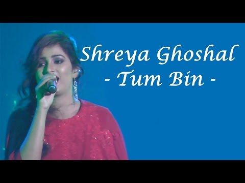 Shreya Ghoshal singing TUM BIN from SANAM RE live in the Netherlands