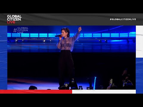 Christine and the Queens Performs a Cover of 'Freedom' in Paris   Global Citizen Live