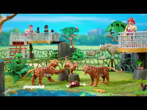 Playmobil   Zoo   Tigers   Pandas   Elepahnts