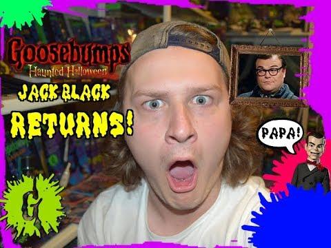 Jack Black Returns! New Goosebumps 2: Haunted Halloween TV Spot Trailers!