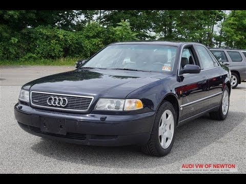 1997 audi a8 4 2 quattro youtube. Black Bedroom Furniture Sets. Home Design Ideas