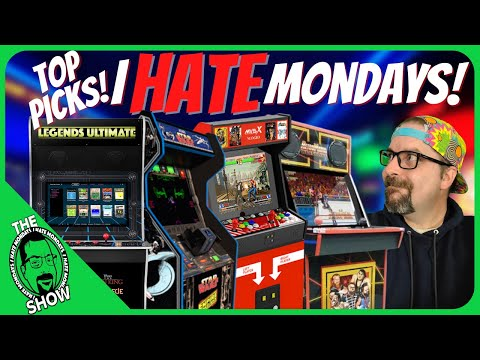 AtGames vs. Arcade1Up vs. MVXS vs. iiRcade What are our Top Cabinets & Games? I Hate Mondays! from PDubs Arcade Loft