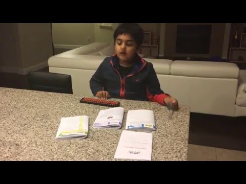 Kavin explaining Best Brains curriculum Best Brains is a  coaching center for kids