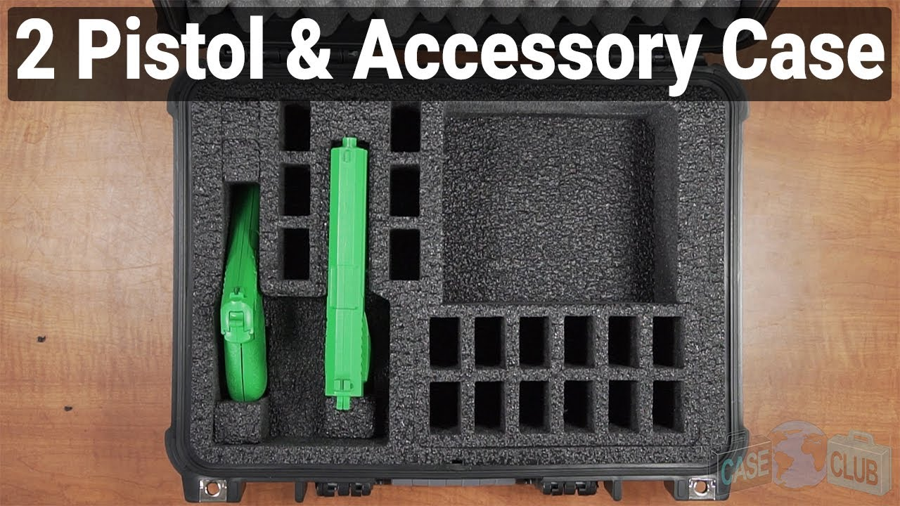 2 Pistol & Accessory Case - Video