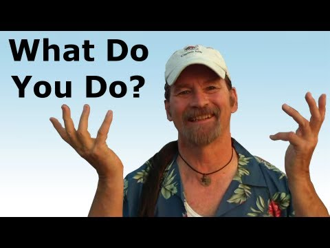 "How Will You Answer ""What Do You Do?"" at Your Class Reunion - Pirate Lifestyle TV ™ Quickie 094"