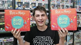 Rick and Morty Blips and Chitz Funko Mystery Box Unboxing x2