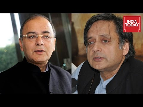 Shashi Tharoor Vs Arun Jaitley Face Off After Results Of Assembly Elections